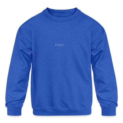 PEYTON Special - Kids' Crewneck Sweatshirt