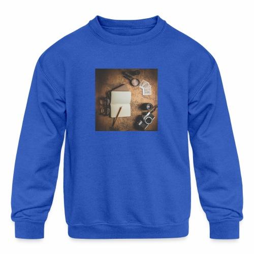 Traveller - Kids' Crewneck Sweatshirt