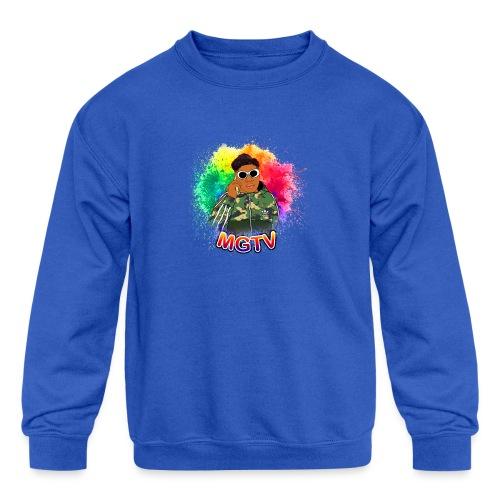 NEW MGTV Clout Shirts - Kids' Crewneck Sweatshirt