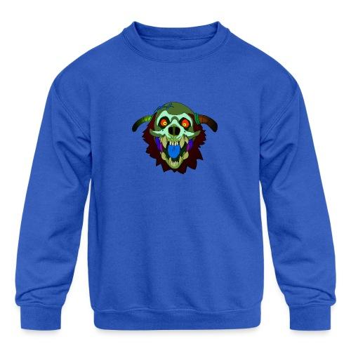 Dr. Mindskull - Kids' Crewneck Sweatshirt