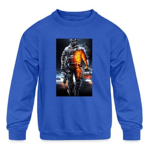 Cod fan - Kids' Crewneck Sweatshirt