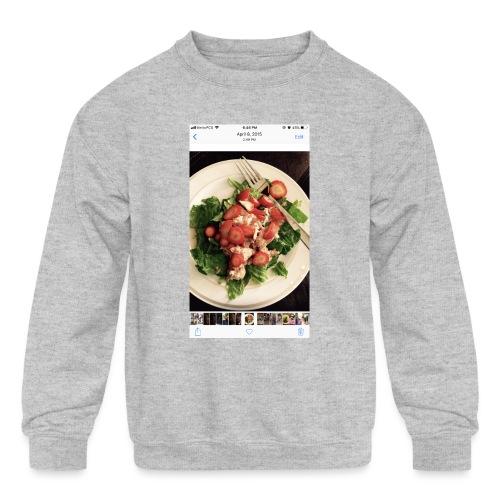 King Ray - Kids' Crewneck Sweatshirt
