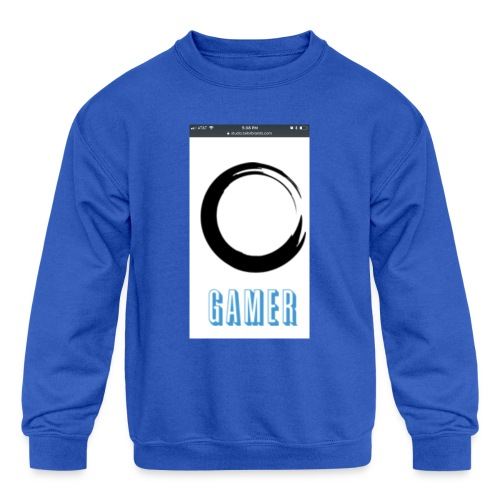 Caedens merch store - Kids' Crewneck Sweatshirt