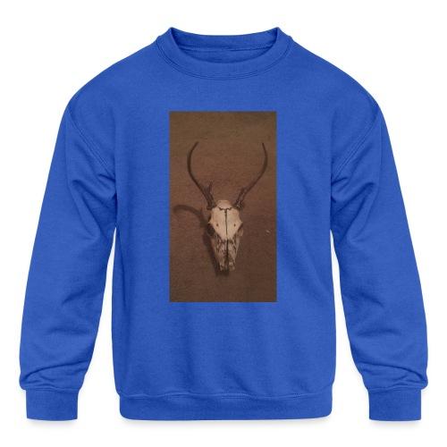 Red neck merchandise - Kids' Crewneck Sweatshirt