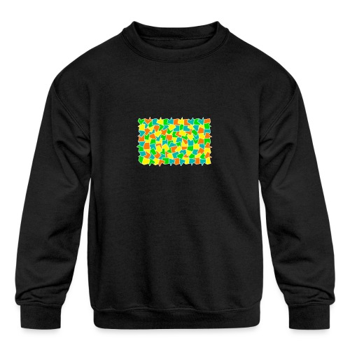 Dynamic movement - Kids' Crewneck Sweatshirt