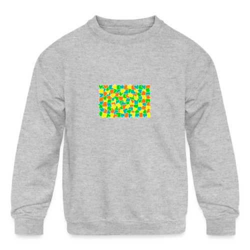 Dynamic movement - Kids' Crewneck Sweatshirt