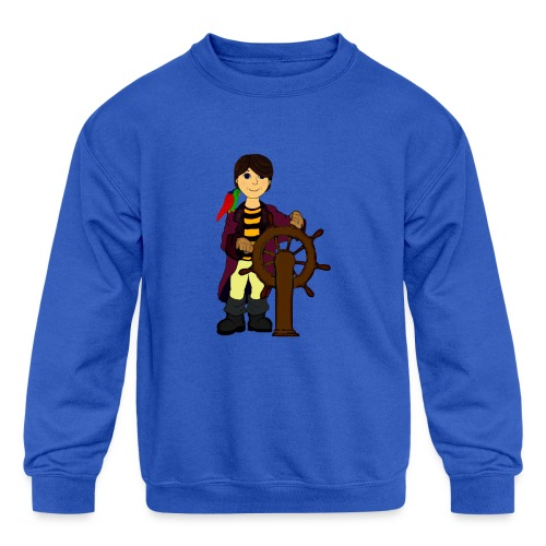 Alex the Great - Pirate - Kids' Crewneck Sweatshirt