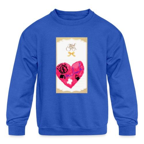 Heart of Economy 1 - Kids' Crewneck Sweatshirt