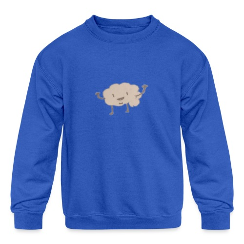 Mr. Brainsby - Kids' Crewneck Sweatshirt