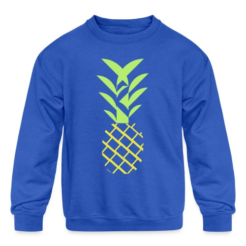 Pineapple flavor - Kids' Crewneck Sweatshirt