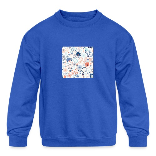 flowers - Kids' Crewneck Sweatshirt