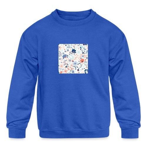 flowers - Kids' Crewneck Sweatshirt