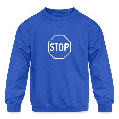 Stop 2 - Kids' Crewneck Sweatshirt