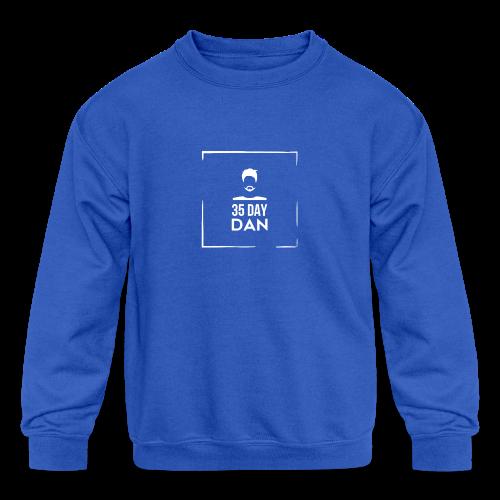 35DD Male White - Kids' Crewneck Sweatshirt