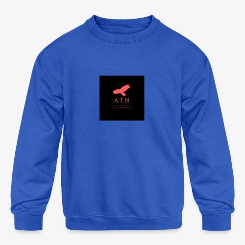 ATN exclusive made designs - Kids' Crewneck Sweatshirt