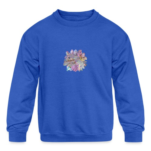 CrystalMerch - Kids' Crewneck Sweatshirt