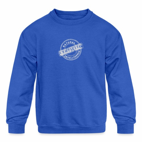 Natural Intelligence inside - Kids' Crewneck Sweatshirt