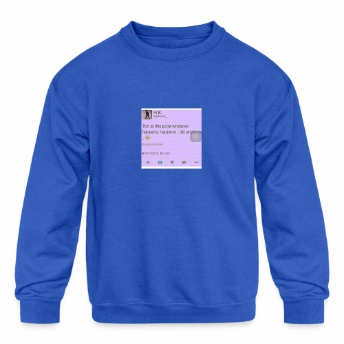 Idc anymore - Kids' Crewneck Sweatshirt