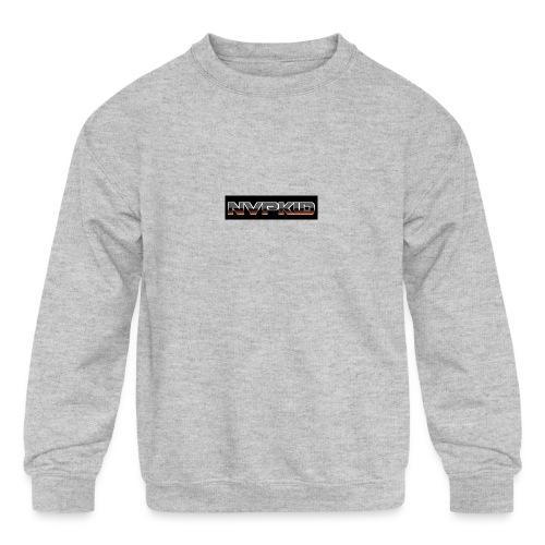 nvpkid shirt - Kids' Crewneck Sweatshirt