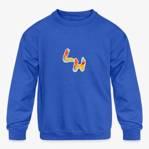 Los Hermanos Logo - Kids' Crewneck Sweatshirt
