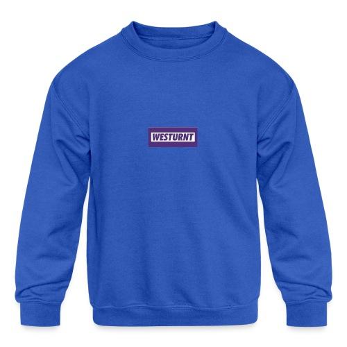 Westurnt - Kids' Crewneck Sweatshirt