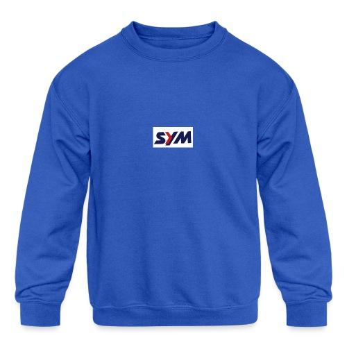 download_-7- - Kids' Crewneck Sweatshirt