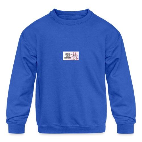 sylvee is a troll - Kids' Crewneck Sweatshirt