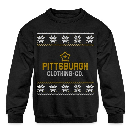 pghcco wordmark sweater - Kids' Crewneck Sweatshirt