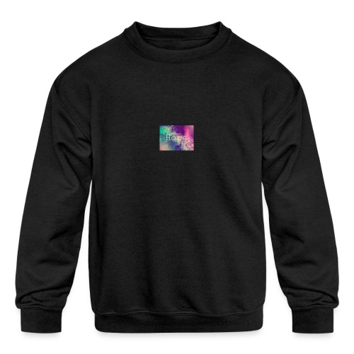 hope - Kids' Crewneck Sweatshirt