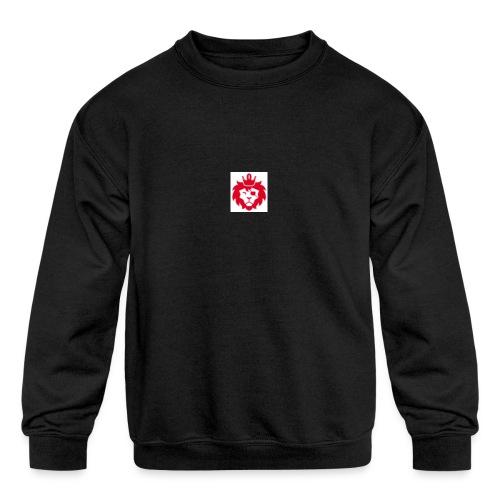 E JUST LION - Kids' Crewneck Sweatshirt