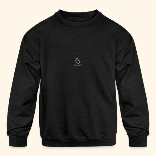 Bless Your Heart® White - Kids' Crewneck Sweatshirt