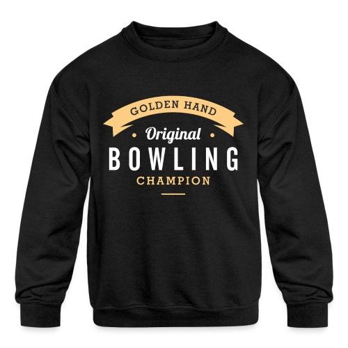 bowling - Kids' Crewneck Sweatshirt