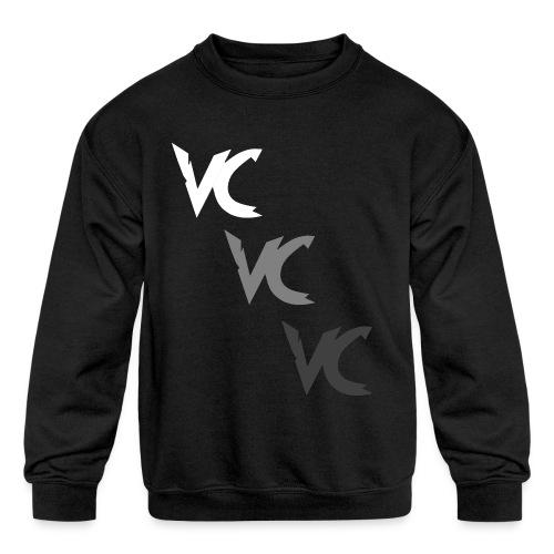 V3L0C1TY Logo Mugs & Drinkware - Kids' Crewneck Sweatshirt