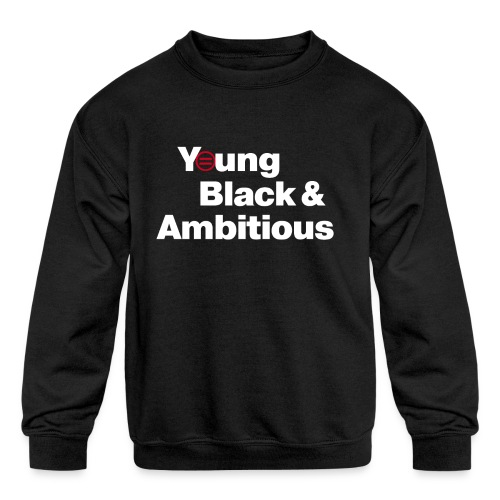 YBA Black Shirt2 - Kids' Crewneck Sweatshirt