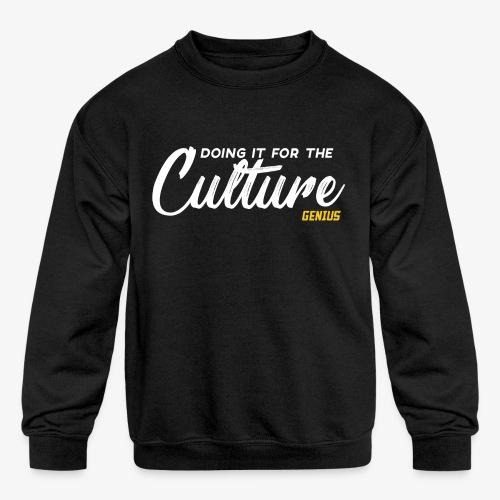 Culture - Kids' Crewneck Sweatshirt