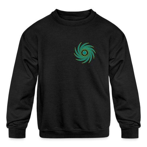 Whirl - Kids' Crewneck Sweatshirt