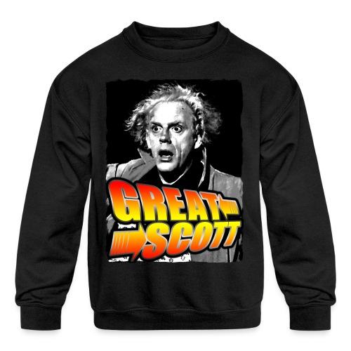 Great Scott Doc - Kids' Crewneck Sweatshirt