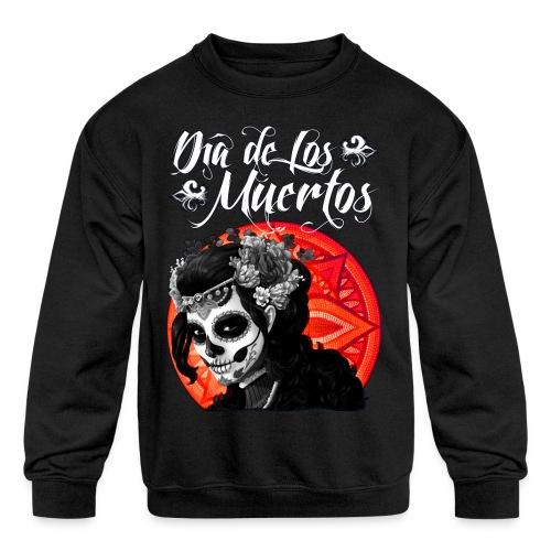 Dia de Los Muertos 01 - Kids' Crewneck Sweatshirt