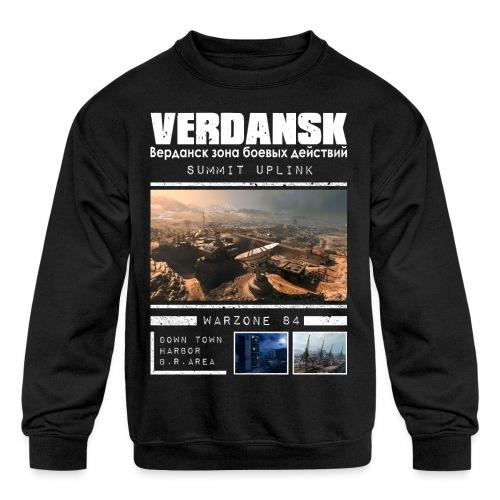 Verdansk Summit - Kids' Crewneck Sweatshirt