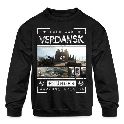 Verdansk Plunder - Kids' Crewneck Sweatshirt