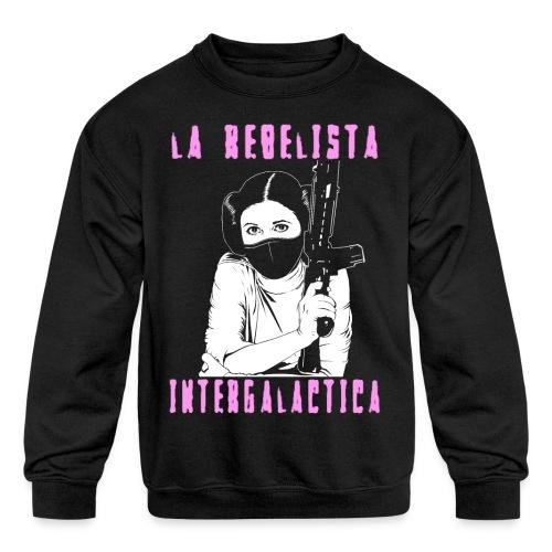 La Rebelista - Kids' Crewneck Sweatshirt