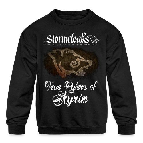 Stormcloaks 3 - Kids' Crewneck Sweatshirt