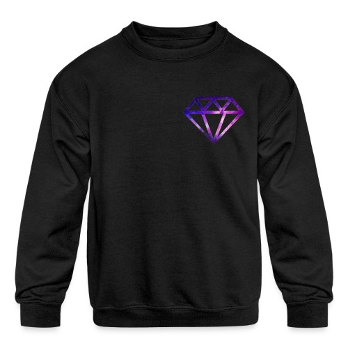 The Galaxy Diamond - Kids' Crewneck Sweatshirt