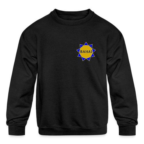 Bahai star - Kids' Crewneck Sweatshirt
