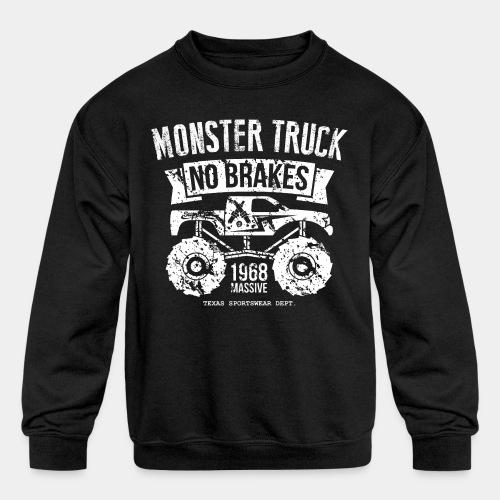 monstertruck monster truck offroad off road - Kids' Crewneck Sweatshirt