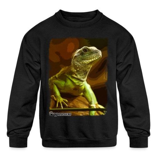 Water Dragon - Kids' Crewneck Sweatshirt