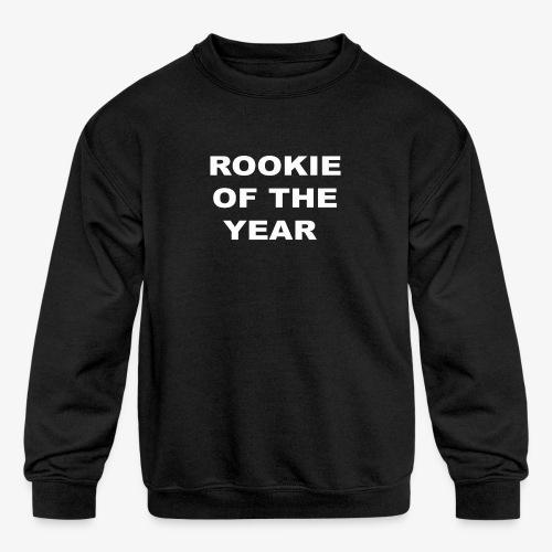 ROOKIE YEAR WHITE - Kids' Crewneck Sweatshirt
