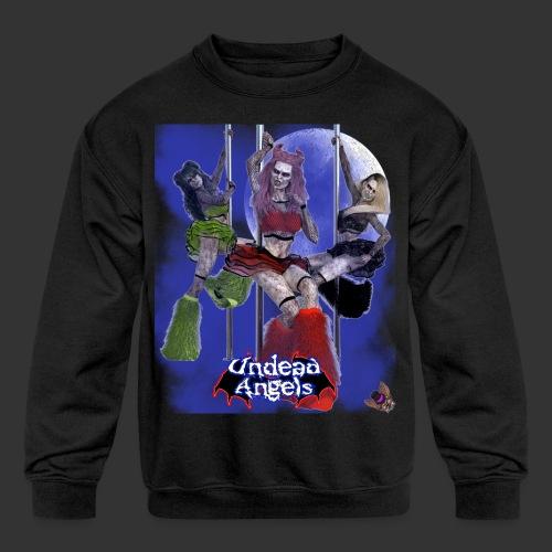 Undead Angels: Pole Dance Trio Full Moon - Kids' Crewneck Sweatshirt