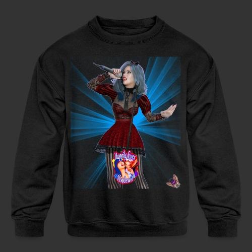 Happily Ever Undead: Alicia Abyss Singer - Kids' Crewneck Sweatshirt