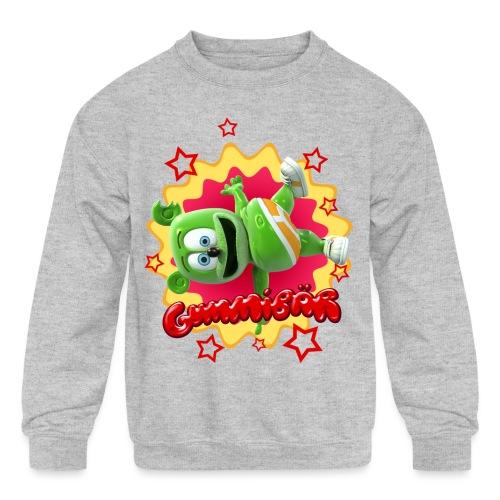 Gummibär Starburst - Kids' Crewneck Sweatshirt